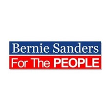 Bernie For The People Car Magnet 10 X 3