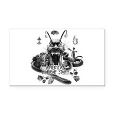 American Horror Story Scenery Rectangle Car Magnet