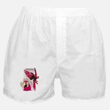 Red Macaw Boxer Shorts