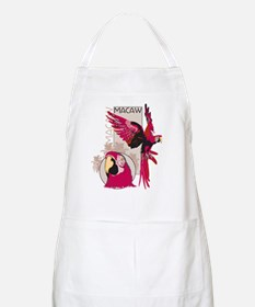 Red Macaw Apron