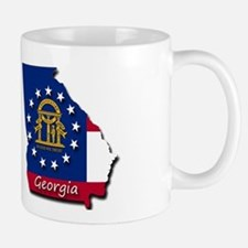 Georgia state flag Mugs