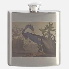Louisiana Heron Flask