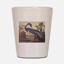 Louisiana Heron Shot Glass