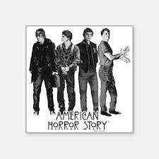 "American Horror Story Evan Square Sticker 3"" x 3"""