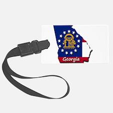 Georgia state flag Luggage Tag