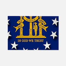 Georgia state flag Magnets