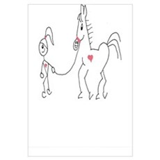 Horsie Love Canvas Art