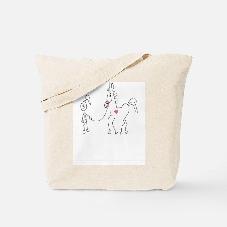 Horsie Love Tote Bag