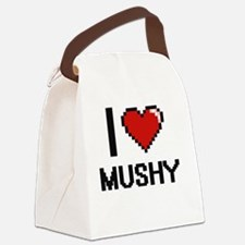 Cute Adjectives Canvas Lunch Bag