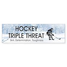 TOP Ice Hockey Slogan Bumper Sticker