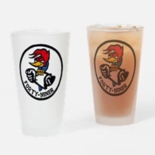VP-49 Forty-Niners Drinking Glass