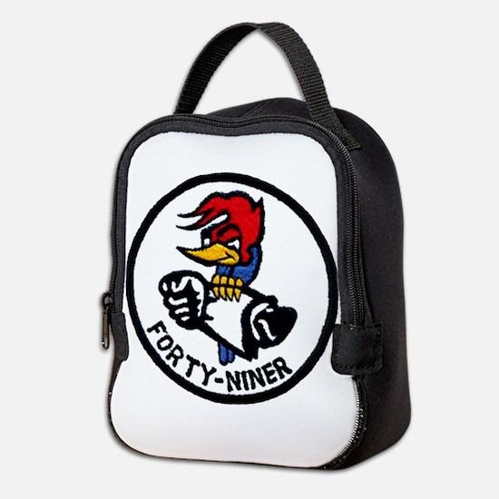 VP-49 Forty-Niners Neoprene Lunch Bag