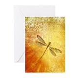 Dragonfly Greeting Cards (10 Pack)
