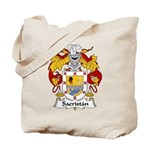 Sacristan Family Crest Tote Bag