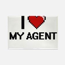 I love My Agent Magnets