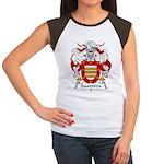 Saavedra Family Crest Women's Cap Sleeve T-Shirt