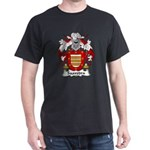 Saavedra Family Crest Dark T-Shirt