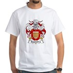 Saavedra Family Crest White T-Shirt
