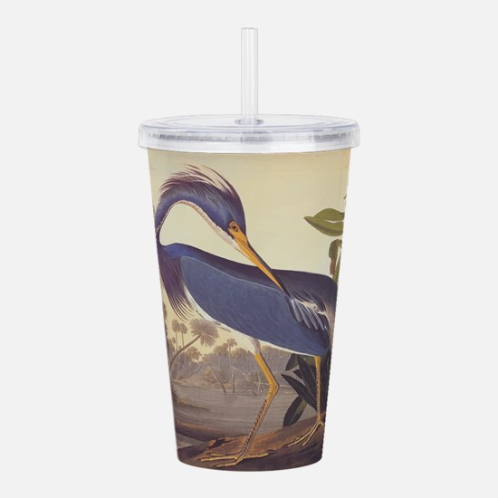 Louisiana Heron Acrylic Double-wall Tumbler