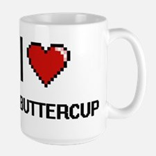 I Love My Buttercup Mugs