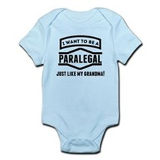 Paralegal Just Like My Grandma Body Suit