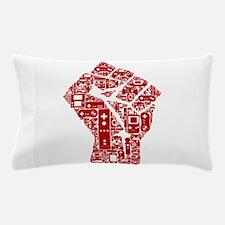 Gamer fist revolution Pillow Case