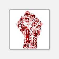Gamer fist revolution Sticker