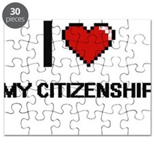I love My Citizenship Puzzle