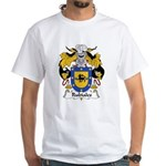 Rubiales Family Crest White T-Shirt