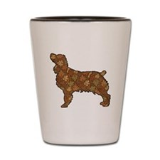 Brown Dog Fall Shot Glass