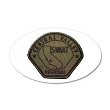 Central Valley SWAT Wall Decal
