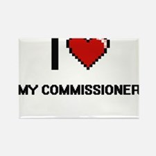 I love My Commissioner Magnets