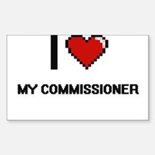 I love My Commissioner Decal