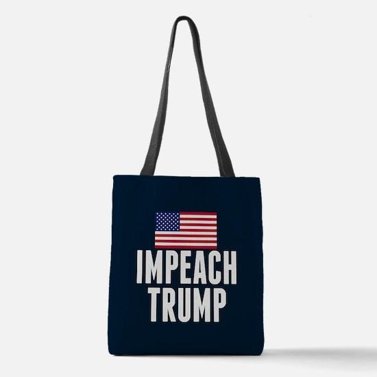 Impeach Trump Polyester Tote Bag