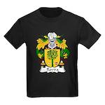 Rovira Family Crest Kids Dark T-Shirt