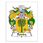 Rovira Family Crest Small Poster