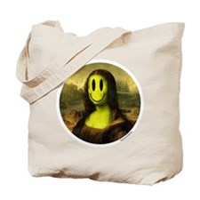 Mona Smiley Tote Bag
