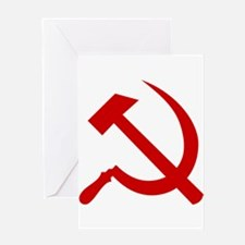 Hammer and Sickle Greeting Cards