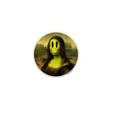 Mona Smiley Mini Button (100 pack)