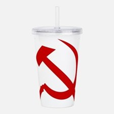 Hammer and Sickle Acrylic Double-wall Tumbler