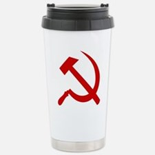 Hammer and Sickle Stainless Steel Travel Mug