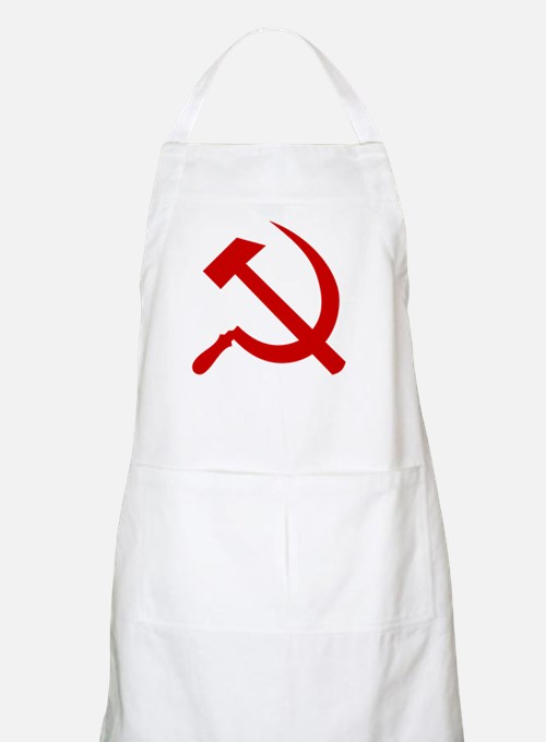 Hammer and Sickle Apron