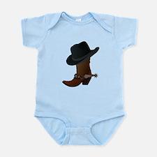 boot- black hat Body Suit