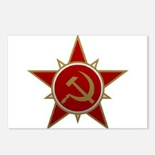 Hammer and Sickle Postcards (Package of 8)