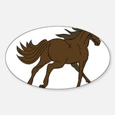 Horse Running Away Decal