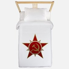 Hammer and Sickle Twin Duvet