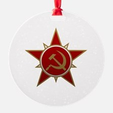 Hammer and Sickle Ornament