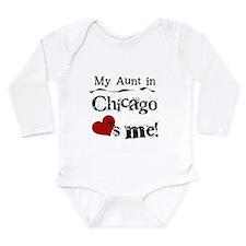 Cute Aunts Long Sleeve Infant Bodysuit
