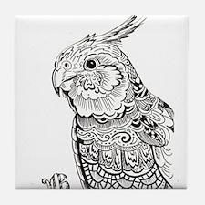Cockatiel Tile Coaster