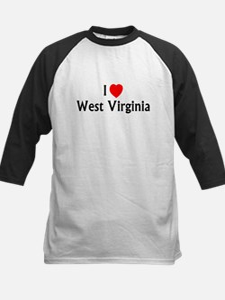 West Virginia Kids Baseball Jersey